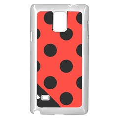 Abstract Bug Cubism Flat Insect Samsung Galaxy Note 4 Case (White)