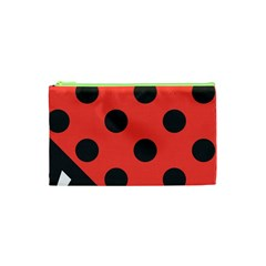 Abstract Bug Cubism Flat Insect Cosmetic Bag (XS)