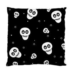 Skull Pattern Standard Cushion Case (Two Sides)