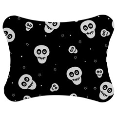 Skull Pattern Jigsaw Puzzle Photo Stand (Bow)