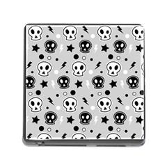 Skull Pattern Memory Card Reader (Square)