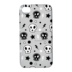 Skull Pattern Apple iPhone 4/4S Hardshell Case with Stand