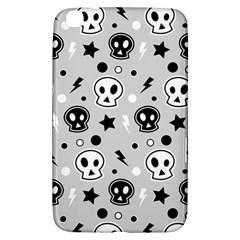 Skull Pattern Samsung Galaxy Tab 3 (8 ) T3100 Hardshell Case