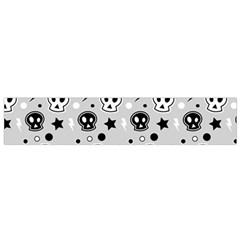Skull Pattern Flano Scarf (Small)