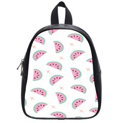 Watermelon Wallpapers  Creative Illustration And Patterns School Bags (Small)