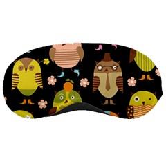 Cute Owls Pattern Sleeping Masks