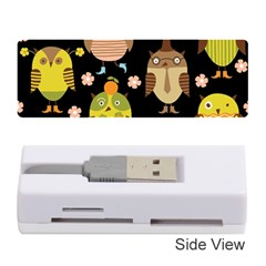 Cute Owls Pattern Memory Card Reader (Stick)