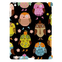 Cute Owls Pattern Apple iPad 3/4 Hardshell Case (Compatible with Smart Cover)