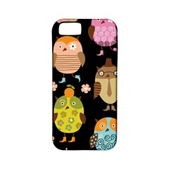 Cute Owls Pattern Apple iPhone 5 Classic Hardshell Case (PC+Silicone)
