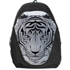 Tiger Head Backpack Bag