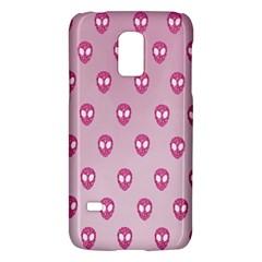 Alien Pattern Pink Galaxy S5 Mini