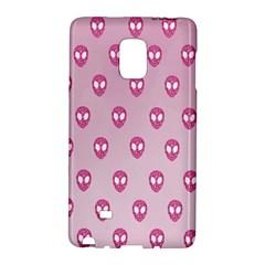 Alien Pattern Pink Galaxy Note Edge