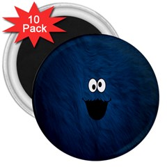 Funny Face 3  Magnets (10 pack)
