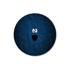 Funny Face Magnet 3  (Round)