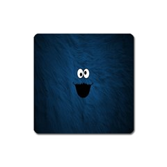 Funny Face Square Magnet