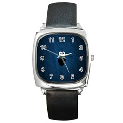 Funny Face Square Metal Watch
