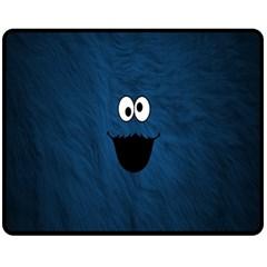 Funny Face Fleece Blanket (Medium)