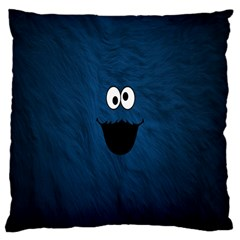 Funny Face Large Cushion Case (One Side)