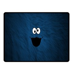 Funny Face Double Sided Fleece Blanket (Small)