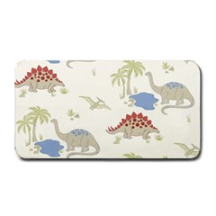 Dinosaur Art Pattern Medium Bar Mats