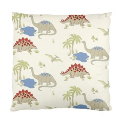 Dinosaur Art Pattern Standard Cushion Case (Two Sides)