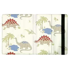 Dinosaur Art Pattern Apple iPad 3/4 Flip Case