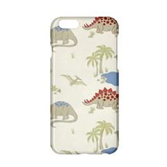 Dinosaur Art Pattern Apple iPhone 6/6S Hardshell Case