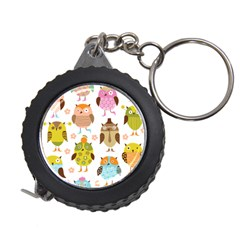 Cute Owls Pattern Measuring Tapes