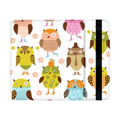 Cute Owls Pattern Samsung Galaxy Tab Pro 8.4  Flip Case