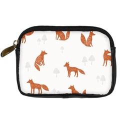Fox Animal Wild Pattern Digital Camera Cases