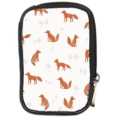 Fox Animal Wild Pattern Compact Camera Cases