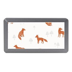 Fox Animal Wild Pattern Memory Card Reader (Mini)