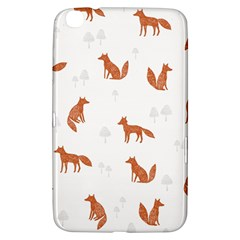 Fox Animal Wild Pattern Samsung Galaxy Tab 3 (8 ) T3100 Hardshell Case