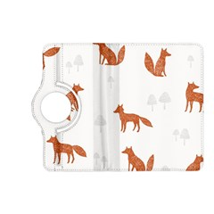Fox Animal Wild Pattern Kindle Fire HD (2013) Flip 360 Case