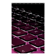 Computer Keyboard Shower Curtain 48  x 72  (Small)