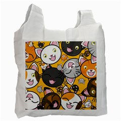 Cats Cute Kitty Kitties Kitten Recycle Bag (One Side)