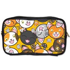Cats Cute Kitty Kitties Kitten Toiletries Bags
