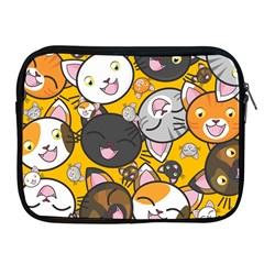 Cats Cute Kitty Kitties Kitten Apple iPad 2/3/4 Zipper Cases