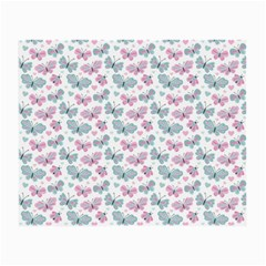 Cute Pastel Butterflies Small Glasses Cloth