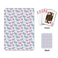 Cute Pastel Butterflies Playing Card