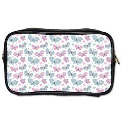 Cute Pastel Butterflies Toiletries Bags
