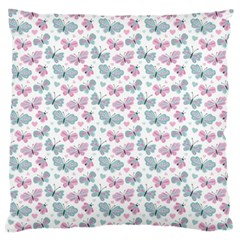 Cute Pastel Butterflies Standard Flano Cushion Case (Two Sides)