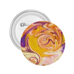 Yellow Marble 2.25  Buttons