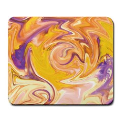 Yellow Marble Large Mousepads
