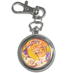 Yellow Marble Key Chain Watches
