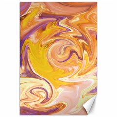 Yellow Marble Canvas 12  X 18