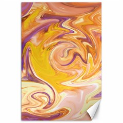 Yellow Marble Canvas 20  X 30