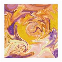 Yellow Marble Medium Glasses Cloth (2 Side)