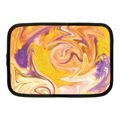 Yellow Marble Netbook Case (medium)