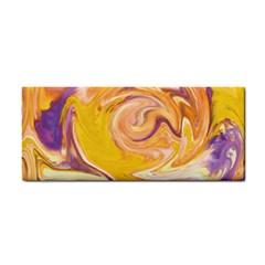 Yellow Marble Cosmetic Storage Cases